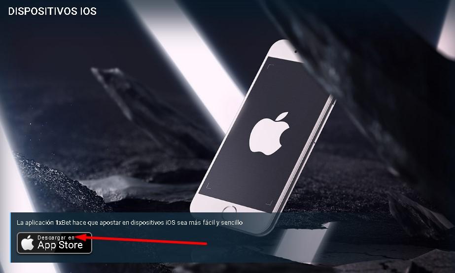 1xBet App iOS.
