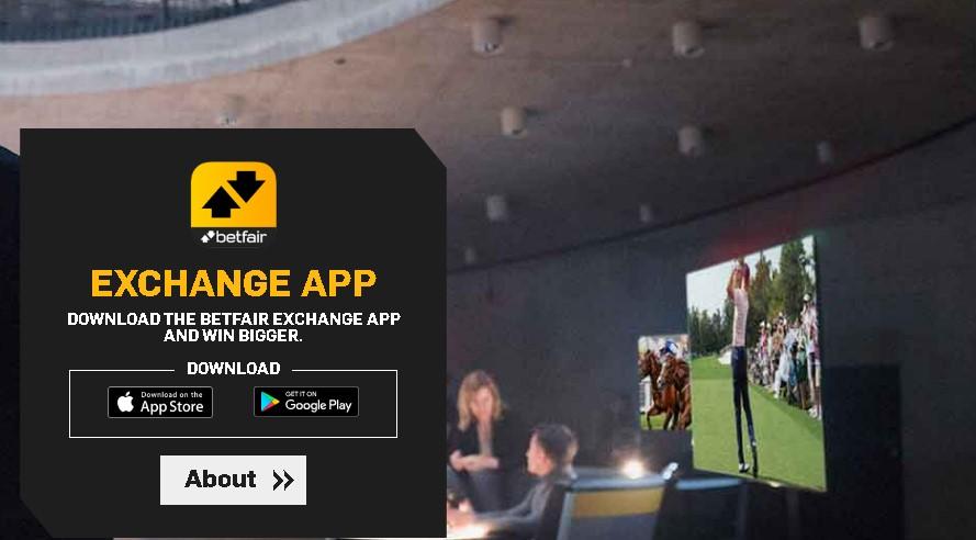 Betfair APK para una exchange aplicación.
