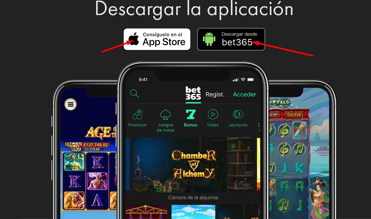 Descargar Bet365 APK para Android y iPhone.